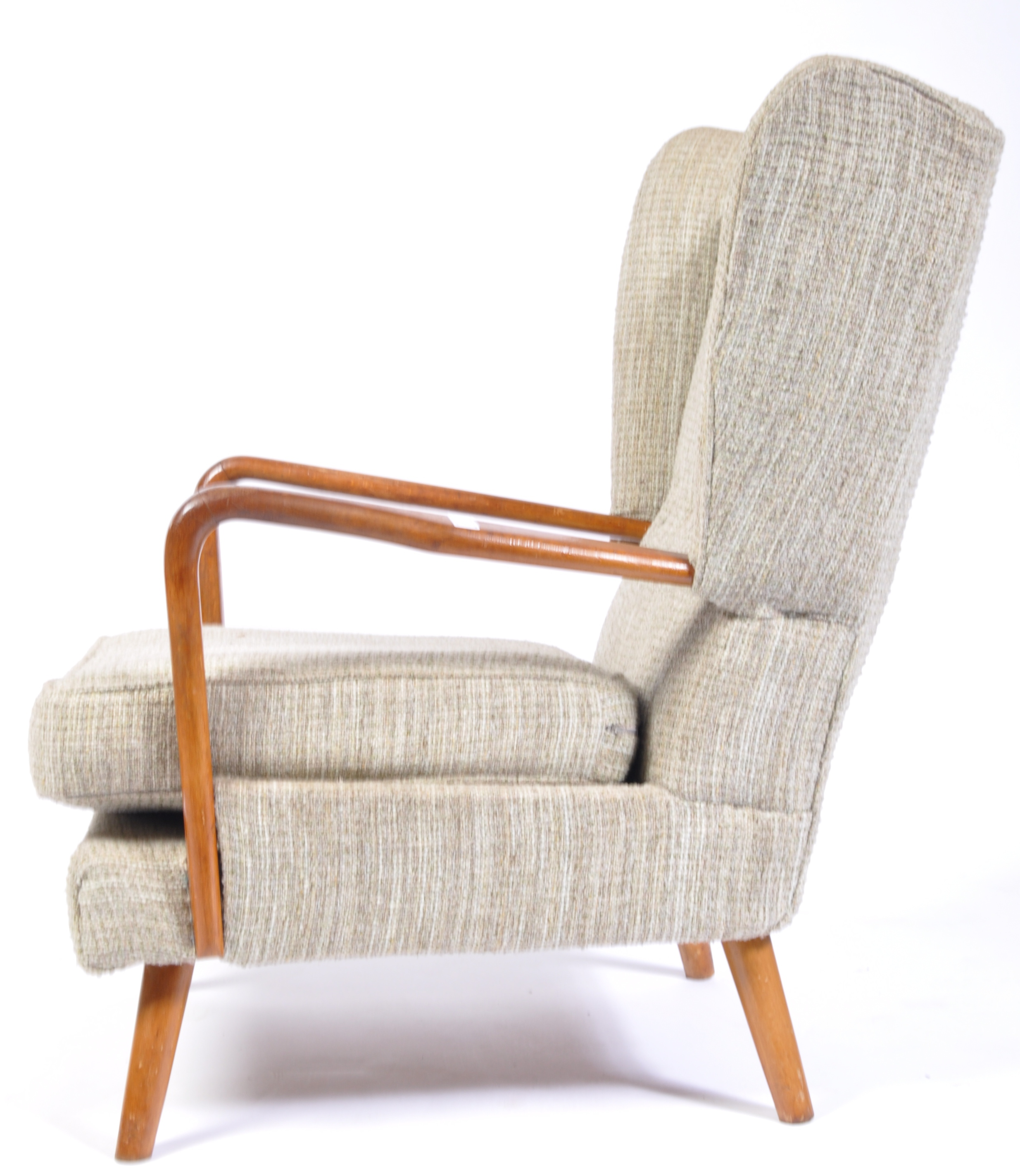 Lot 20 - HEALS 1950'S RETRO VINTAGE BAMBINO CHAIR BY HOWARD KEITH