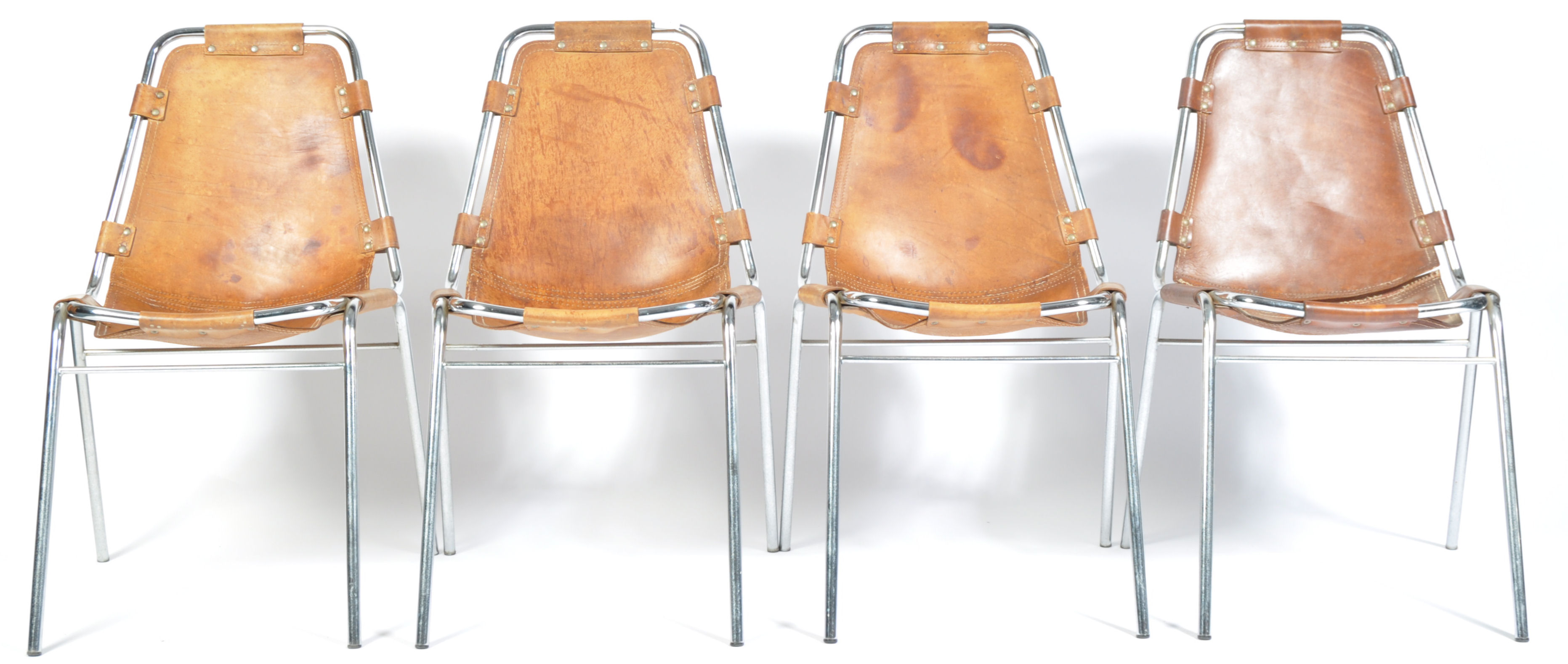 Lot 1 - CASSINA LES ARC ORIGINAL 1970'S RETRO CHAIR BY CHARLOTTE PERRIAND