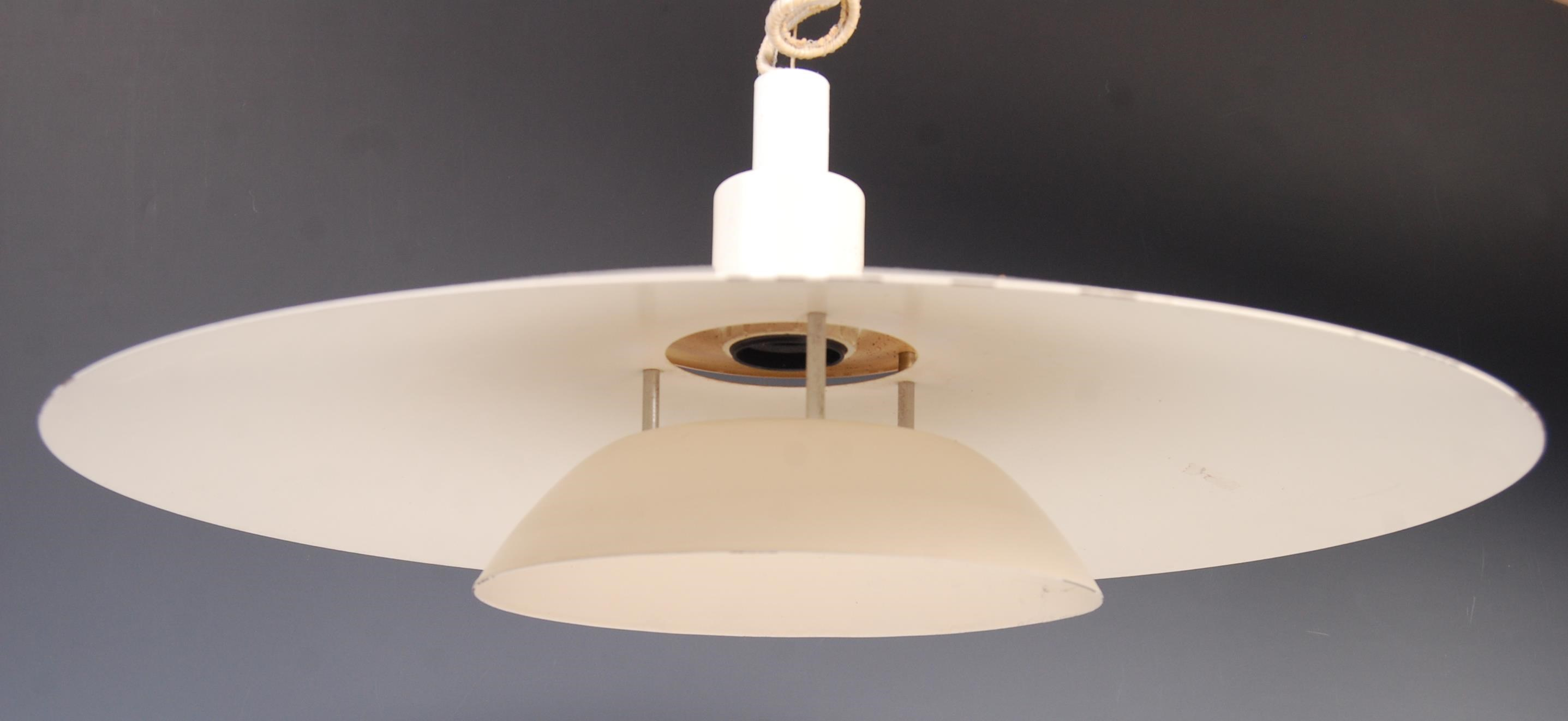 Lot 15 - 20TH CENTURY DANISH RETRO CEILING LAMP / LIGHT PENDANT FIXTURE