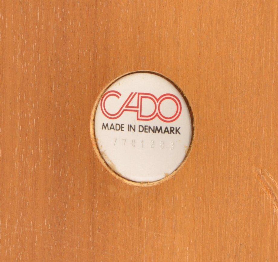 Lot 10 - CADO VINTAGE DANISH PARQUETRY TOPPED COFFEE TABL:E