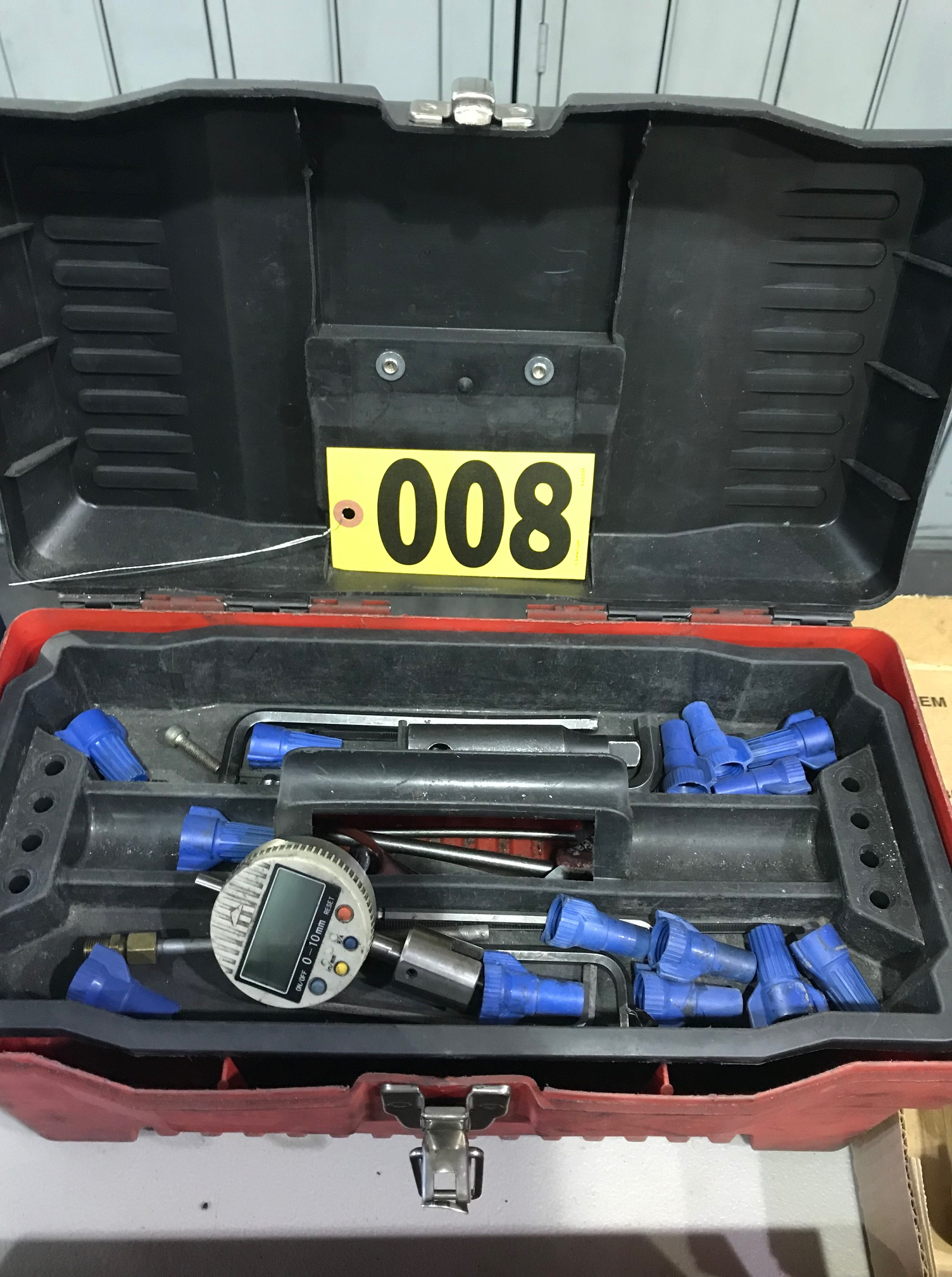 Tool box, tools, & contents