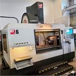 "2010 HAAS VF-6/50 CNC VERTICAL MACHING CENTER, S/N 1081573, TRAVELS: 64"" X 32"" Y , 30"" Z, 7500"