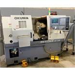 """2007 OKUMA HERITAGE ES-L10 II CNC LATHE, OSP 200L CNC CONTROL, CHIP CONVEYOR, TURRET, TAILSTOCK, 10"""""""