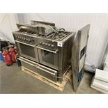 Stoves 1200DFA gas and electric range cooker with extractor.