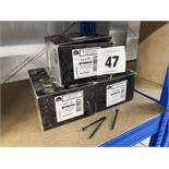 Large quantity of plasterboard screws. *