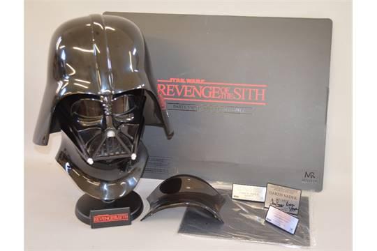 Master Replicas Star Wars Sw 138 Episode Iii Revenge Of The Sith Darth Vader Helmet Ltd Ed 108