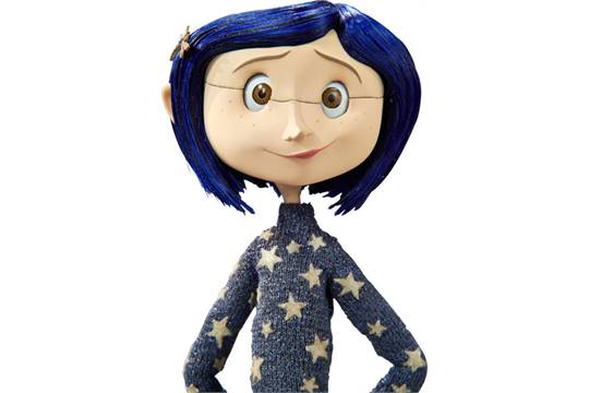 Coraline Blue Star Sweater Original Animation Puppet Laika 2009 This Is The Puppet Of Coralin