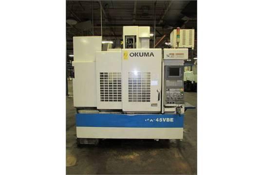 Okuma MX-45VBE CNC Vertical Machining Center Okuma OSP-U10M control