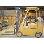 HYSTER PROPANE FORKLIFT, 3-STAGE