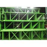 60 PCS NEW TEARDROP UPRIGHT 18'H X 42'D, 3 X 3 GREEN