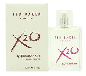 Lot 51591 - V Brand New 100ml Ted Baker London X20 Extraordinary Eau De Toilette Pour Femme ISP £26.24 (Ebay)