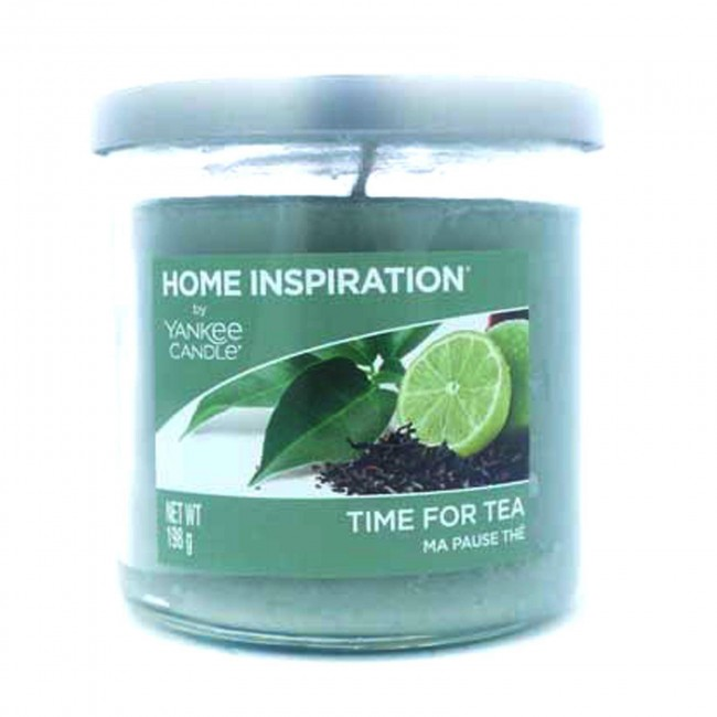 Lot 50089 - V Brand New Home Inspiration by Yankee Candle Time for Tea 198g Tumbler Candle - ISP £7.99 Ebay (