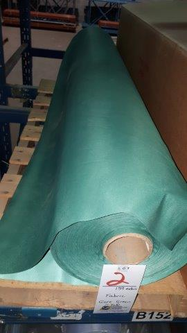 Lot 2 - Fabric Gore Green (1 roll)