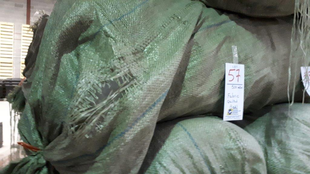 Lot 57 - Fabric quilted (5 rolls)