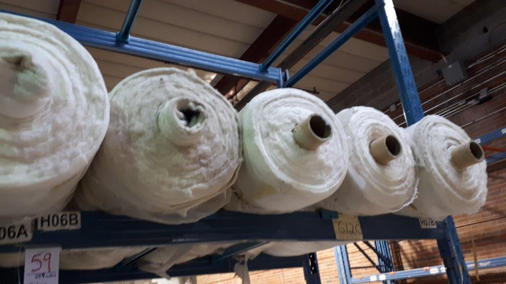 Lot 59 - Fabric Viscose (8 rolls)