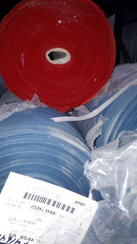 Lot 26 - Fabric bounty set assorted colors ( 9 rolls)