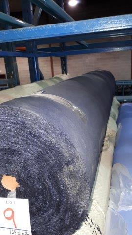 Lot 9 - Fabric navy blue Poplin (1 roll)