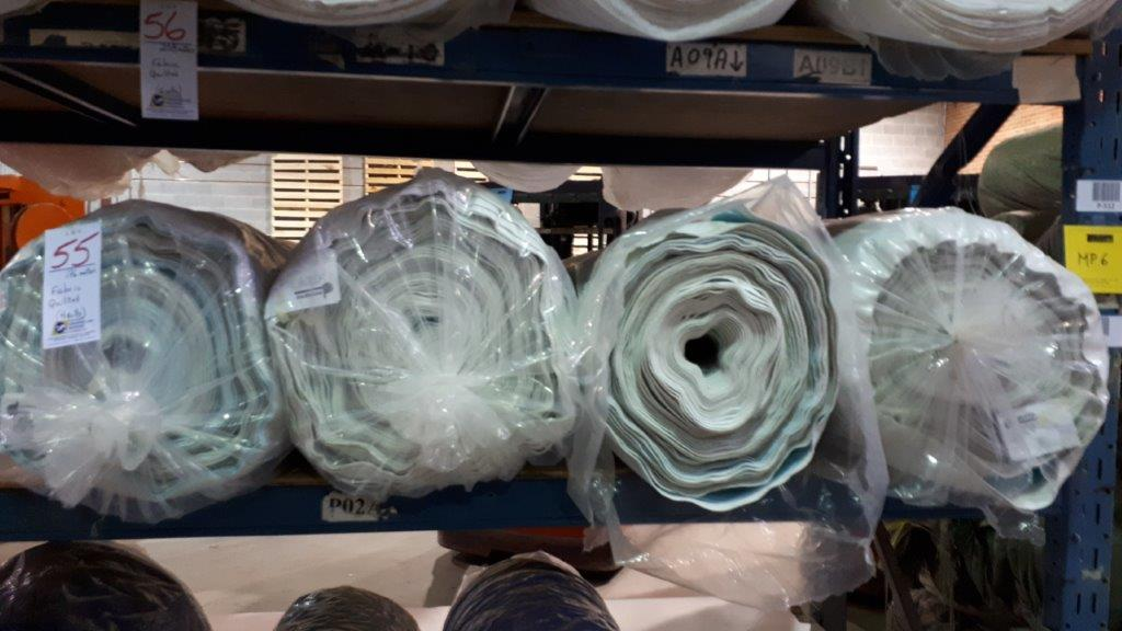 Lot 55 - Fabric quilted (4 rolls)