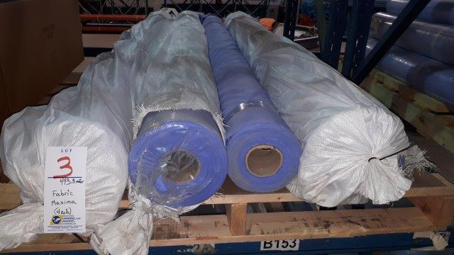 Lot 3 - Fabric Maxima (4 rolls)
