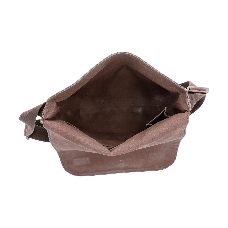 """LOUIS VUITTON Messenger Bag, """"BROOKLYN MM"""", Koll. 2010.Damier Ebene Serie mit textilem - Bild 6 aus 8"""