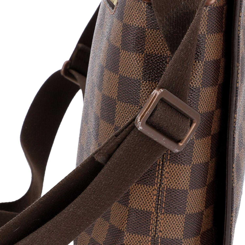 """LOUIS VUITTON Messenger Bag, """"BROOKLYN MM"""", Koll. 2010.Damier Ebene Serie mit textilem - Bild 8 aus 8"""
