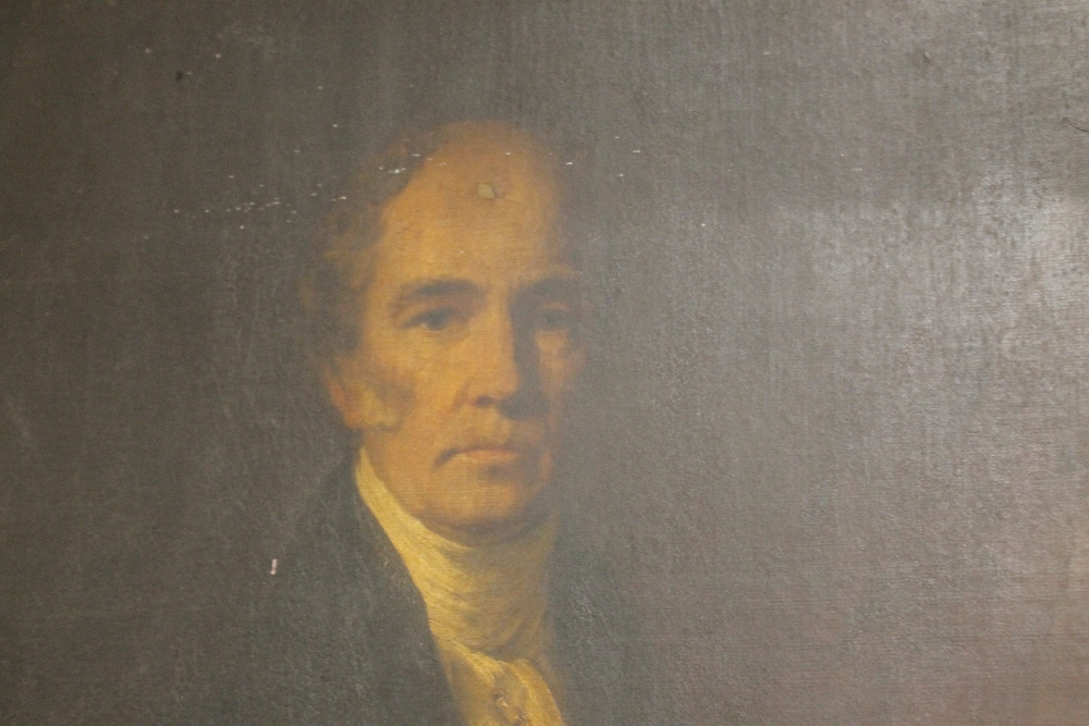 Lot 174 - W. BONNER R.S.A (XIX). A portrait study of The Reverend Ralph Wardlaw D.D. (1779-1852) see verso,
