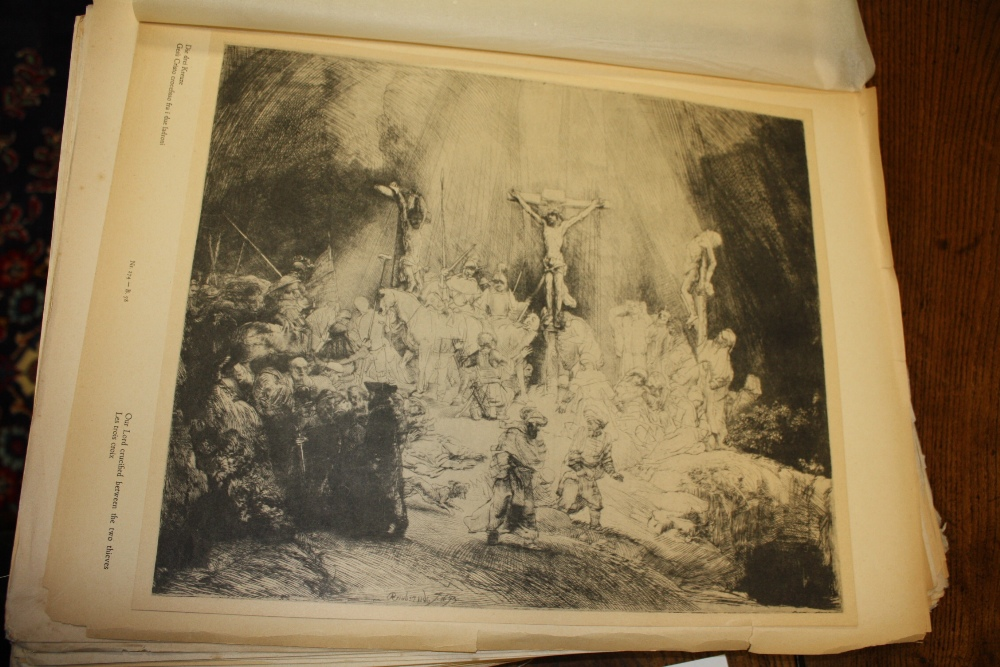 Lot 35 - HERMENSZ VAN RIJN REMBRANDT (1606-1669). Two limited edition portfolios 32 / 500 of the artists