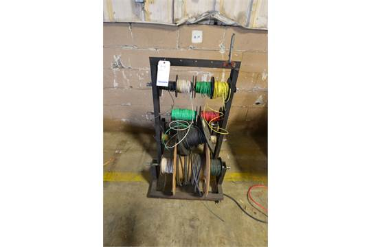 Wire Reel Holder W Various Wire