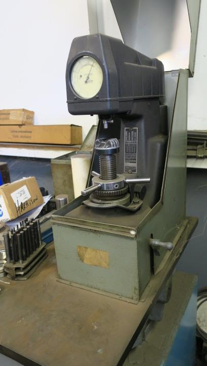 Lot 22 - ROCKWELL HARDNESS TESTER, WILSON MDL. 1JR, S/N 1JR-22