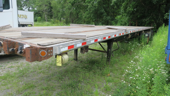 Lot 20 - TRAILER, 2007 GREAT DANE MDL. GPIWSAR-248102, 48'L., 20,000 lb. G.V.W.R. per axle, tandem axle,