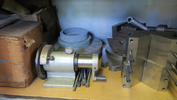 LOT CONSISTING OF: assorted grinding accessories, drill grinder & punch grinder, including precision - Image 7 of 8