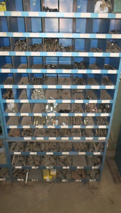Lot 18 - LOT CONSISTING OF: large selection of die parts including punches, inserts, dowel pins, etc. (top