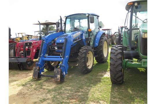 540x360 id 9726 new holland t475 tractor, c a, 4wd, w 655tl loader (no New Holland T4.75 Cab at edmiracle.co