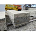 """(8) 24"""" x 8' Durand Concrete Forms, Smooth 6-12 Hole Pattern, Attached Hardware, Located in Mt."""