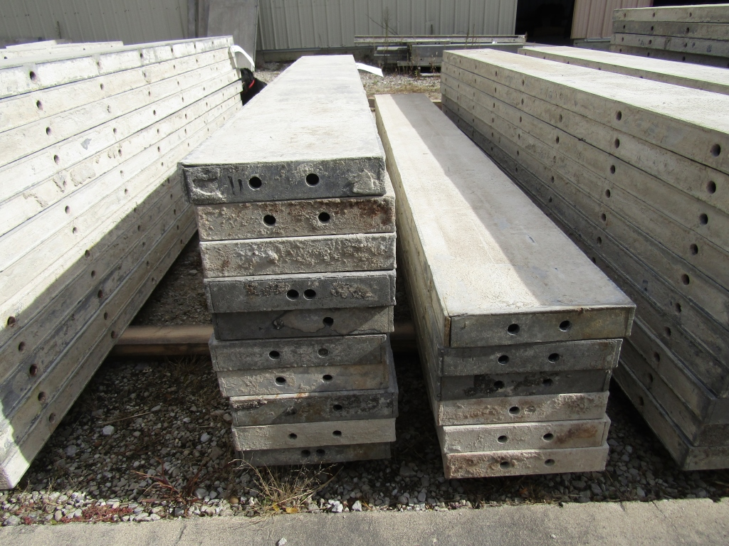 """(16) 11"""" x 8' Durand Concrete Forms, Smooth 6-12 Hole Pattern , Located in Mt. Pleasant, IA - Image 2 of 2"""