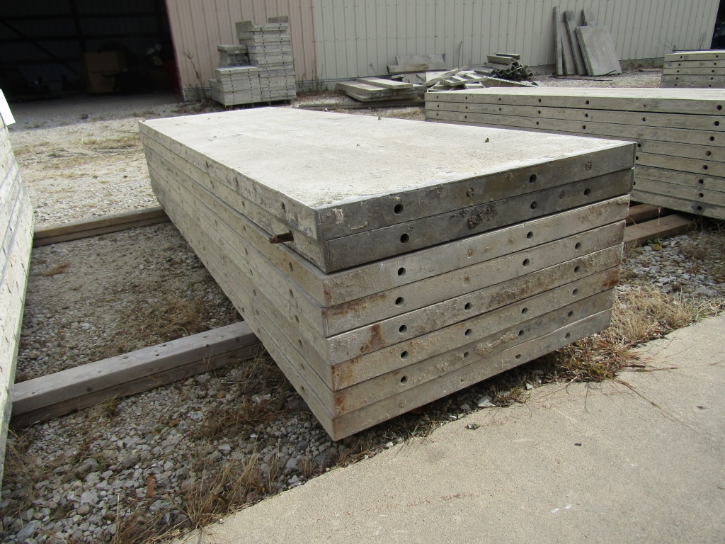 """(8) 30"""" x 8' Durand Concrete Forms, Smooth 6-12 Hole Pattern, Attached Hardware, Located in Mt. - Image 3 of 4"""