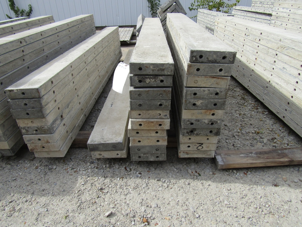 "(23) 8"" x 8' Durand Concrete Forms, Smooth 6-12 Hole Pattern , Located in Mt. Pleasant, IA - Image 2 of 2"