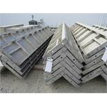 """(6) 12"""" x 12"""" x 8' Durand Concrete Forms Corners, Smooth 6-12 Hole Pattern, Located in Mt. Pleasant,"""
