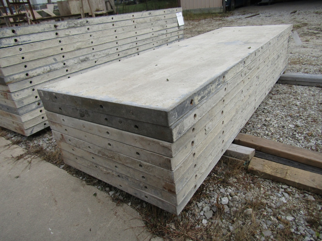 """(8) 30"""" x 8' Durand Concrete Forms, Smooth 6-12 Hole Pattern, Attached Hardware, Located in Mt. - Image 4 of 4"""
