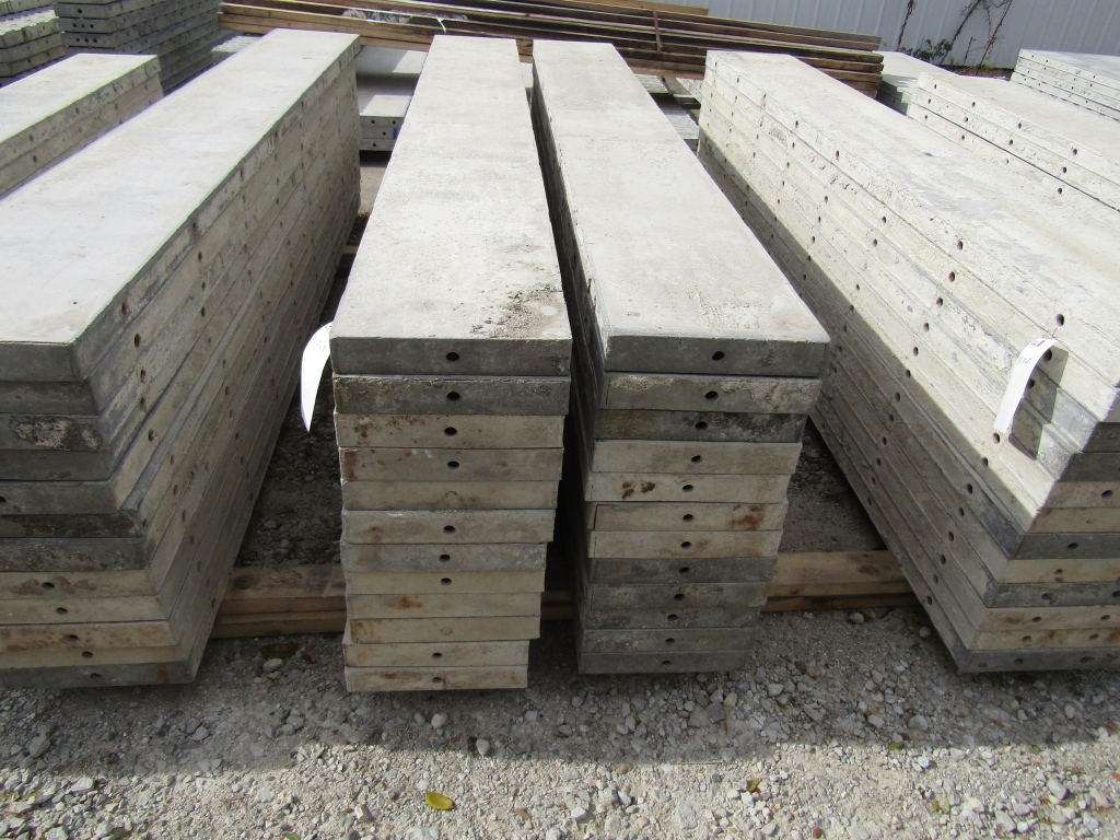 """(24) 12"""" x 8' Durand Concrete Forms, Smooth 6-12 Hole Pattern , Located in Mt. Pleasant, IA"""