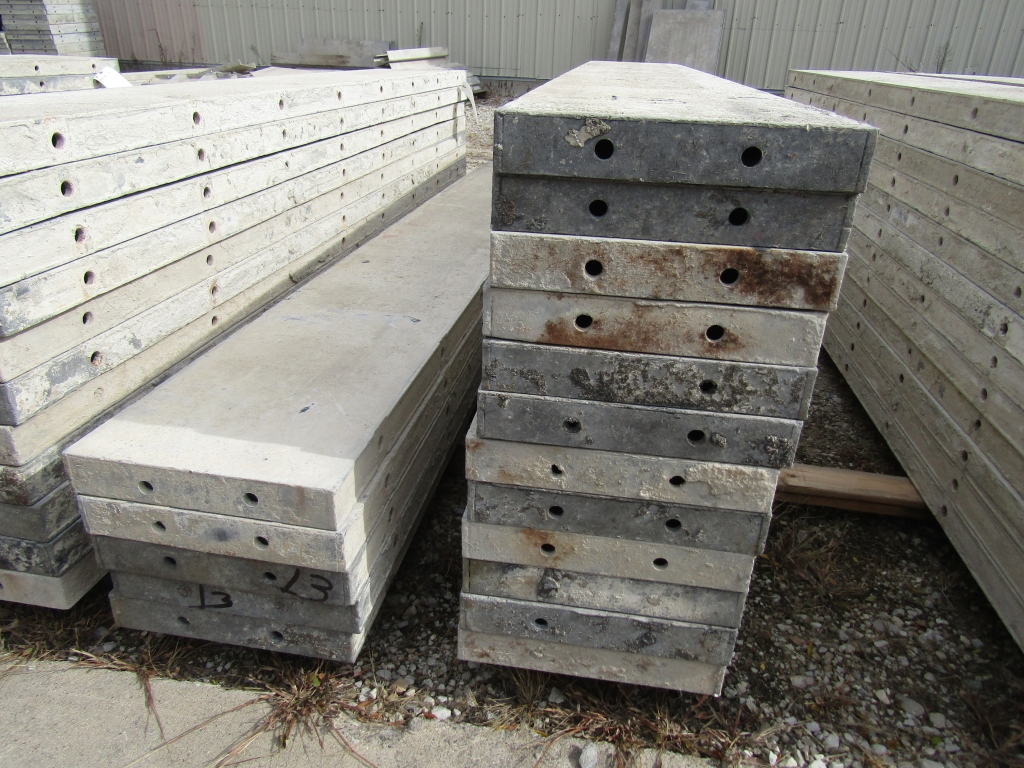 """(17) 13"""" x 8' Durand Concrete Forms, Smooth 6-12 Hole Pattern , Located in Mt. Pleasant, IA - Image 2 of 2"""