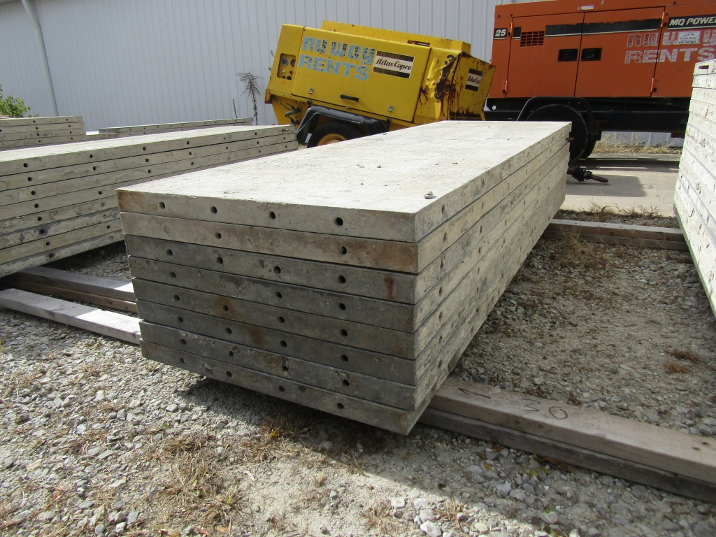 """(8) 30"""" x 8' Durand Concrete Forms, Smooth 6-12 Hole Pattern, Attached Hardware, Located in Mt. - Image 2 of 4"""