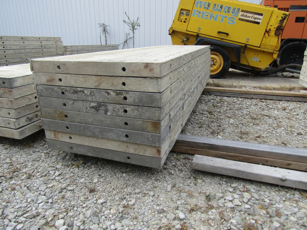 """(8) 24"""" x 8' Durand Concrete Forms, Smooth 6-12 Hole Pattern, Attached Hardware, Located in Mt. - Image 2 of 3"""