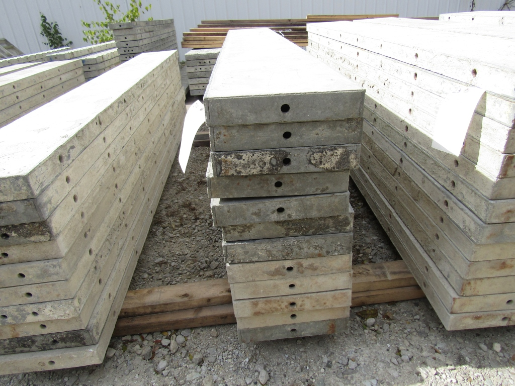 """(12) 12"""" x 8' Durand Concrete Forms, Smooth 6-12 Hole Pattern , Located in Mt. Pleasant, IA"""