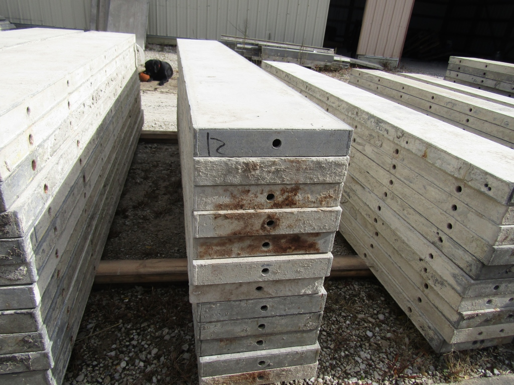 """(12) 12"""" x 8' Durand Concrete Forms, Smooth 6-12 Hole Pattern , Located in Mt. Pleasant, IA - Image 2 of 2"""