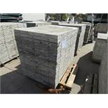 "(20) 36"" x 5' Durand Concrete Forms, Smooth 6-12 Hole Pattern, Attached Hardware, Located in Mt."