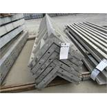 """(6) 14"""" x 14"""" x 9' Durand Concrete Forms Corners, Smooth 6-12 Hole Pattern, Located in Mt. Pleasant,"""