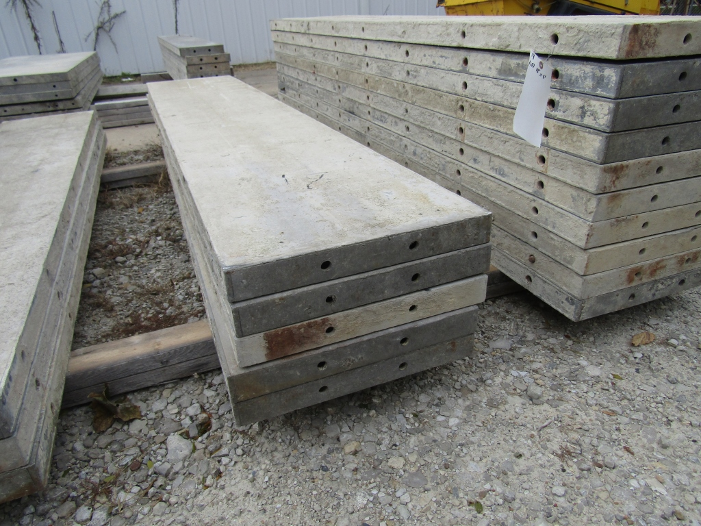 """(15) 18"""" x 8' Durand Concrete Forms, Smooth 6-12 Hole Pattern, Attached Hardware, Located in Mt. - Image 3 of 4"""