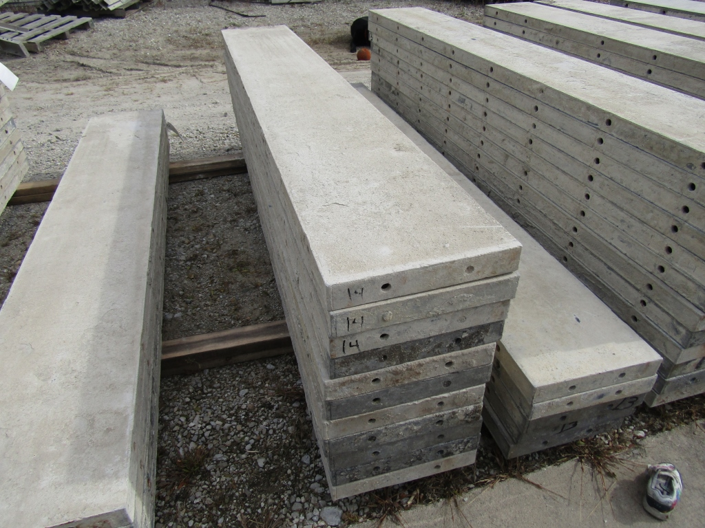 """(11) 14"""" x 8' Durand Concrete Forms, Smooth 6-12 Hole Pattern , Located in Mt. Pleasant, IA - Image 2 of 2"""