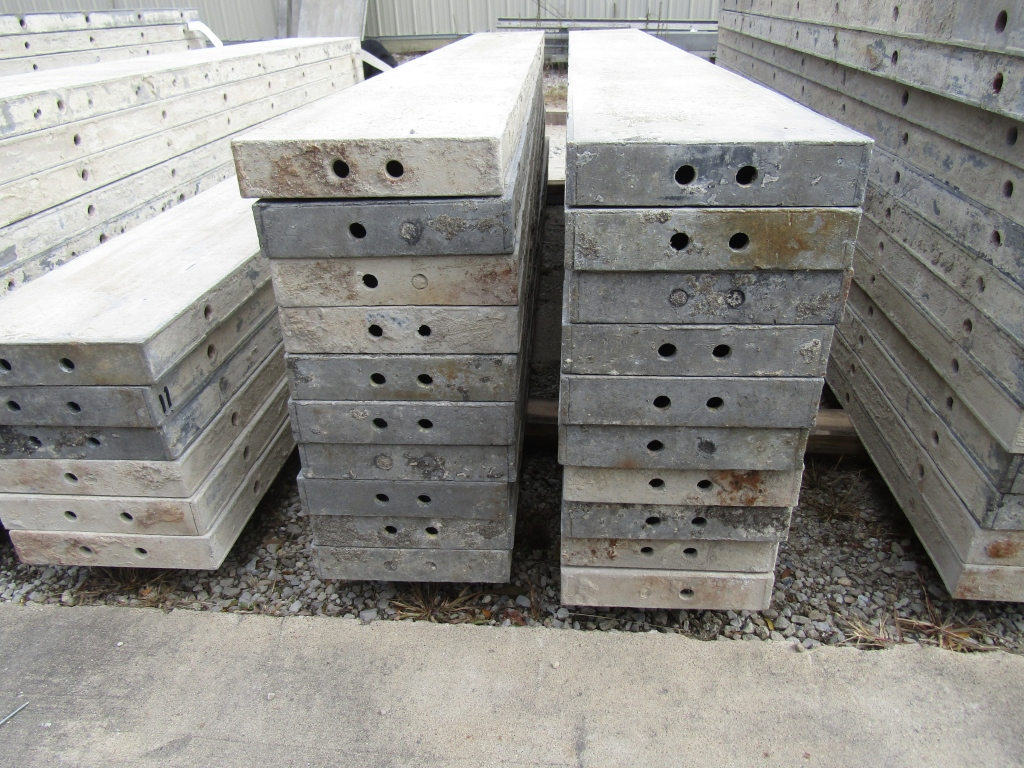 """(20) 10"""" x 8' Durand Concrete Forms, Smooth 6-12 Hole Pattern , Located in Mt. Pleasant, IA - Image 2 of 2"""